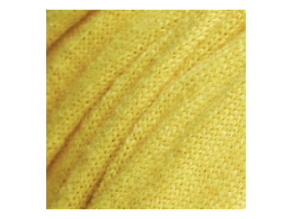 Gold Stroke Me Scarf. Made with pure Mongolian Cashmere.