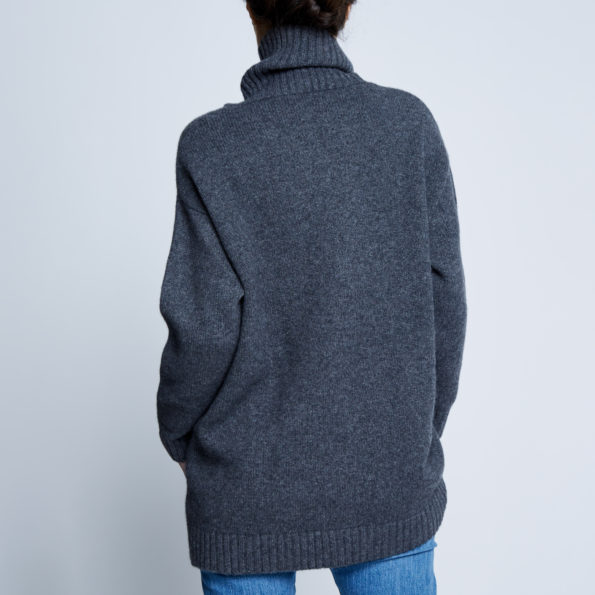 Alabaste Mongolian Cashmere Sloppy Joe sweater